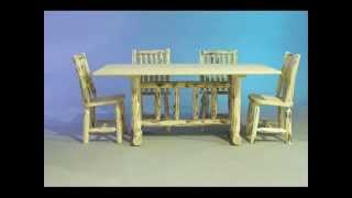 Amish Log Furniture