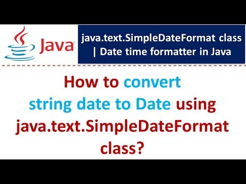 Java convert string to date format