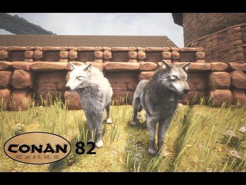 Conan Exiles S02E82 : Pet Food, Shadebloom & Greater pets