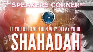 Cover images DAWAH THAT LED TO SHAHADAH BR ALEX [ SPEAKERS CORNER ]