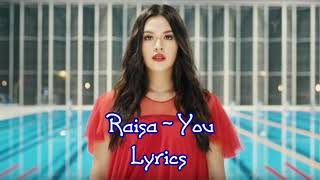 Gambar cover Raisa - You (Lyrics)