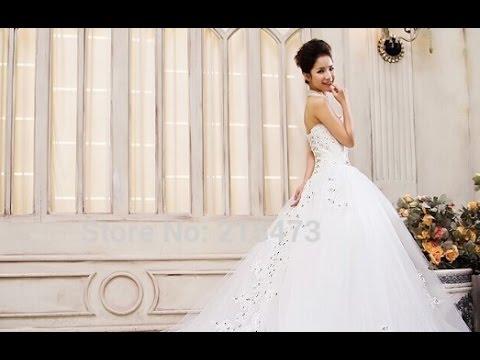 Wedding Dress Long Tail