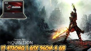 Dragon Age: Inquisition Gameplay - GTX 960M 4 GB (ASUS ROG Laptop)