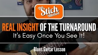 Blues Turnarounds On The Fly, On the Guitar....