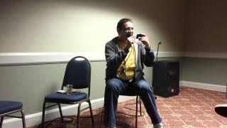 Chris Rager as Mr. Satan (Hercule)- Navy Seal Copypasta