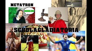 MetatronScholagladiatoria Answer All Questions Food Gladiators Romans British Weapons Wind