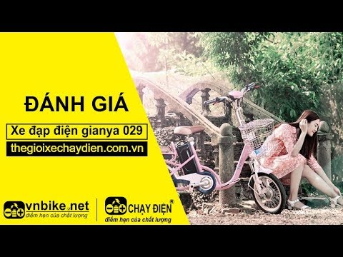 Đánh giá xe đạp điện Gianya 029