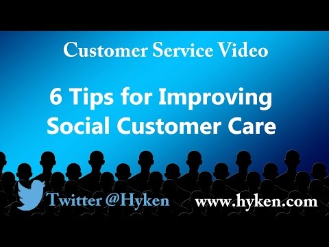 6 Customer Service Tips for Improving Social Media Support