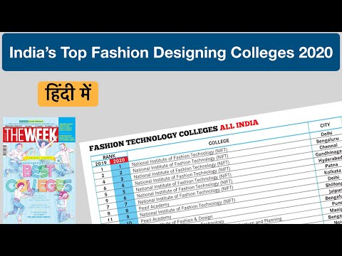 Top 19 Fashion Designing Colleges In India 2020 भ रत क Best फ शन ड ज इन क ल ज Nift College Youtube