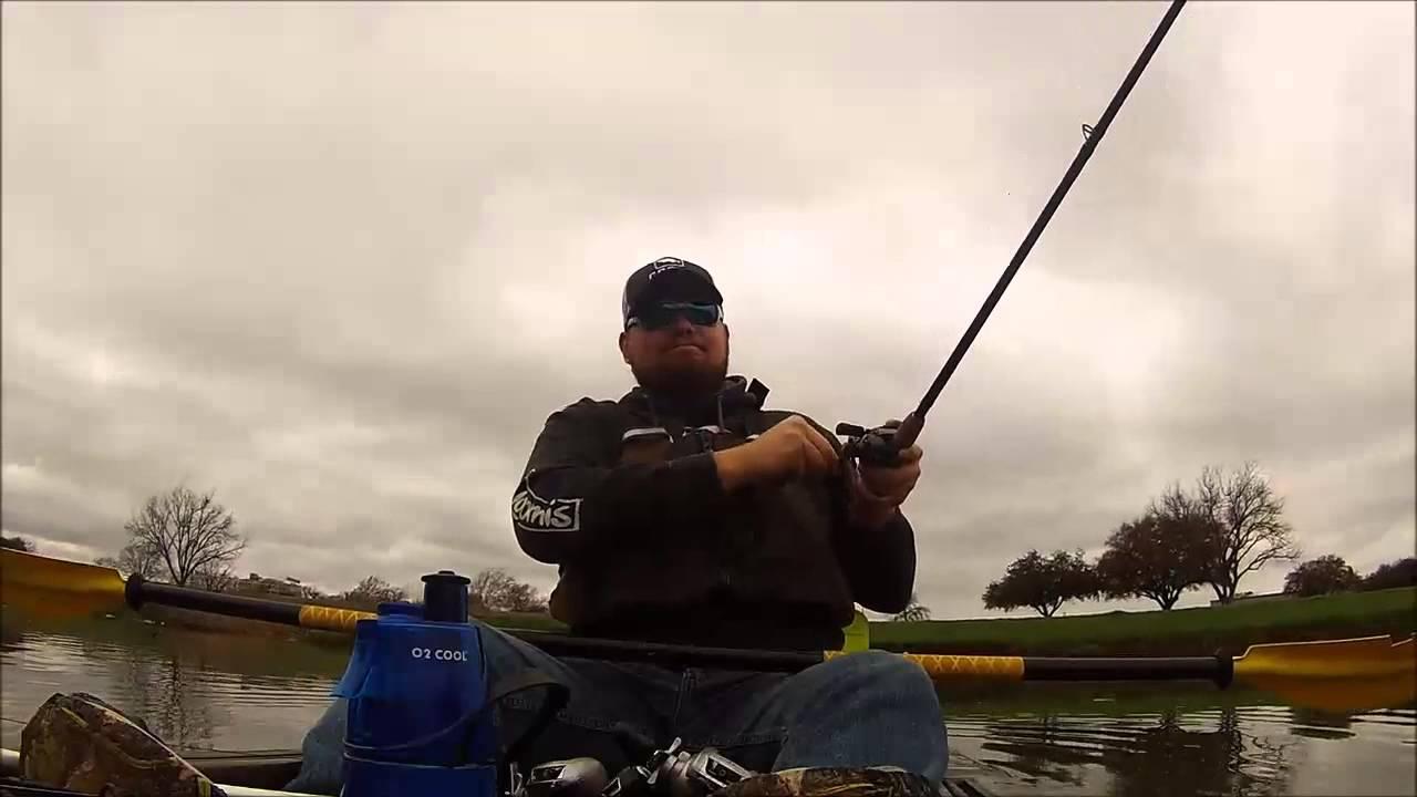 Texas kayak fishing youtube for Youtube kayak fishing
