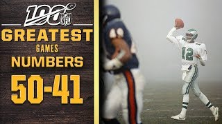 100 Greatest Games: Numbers 50-41 | NFL 100