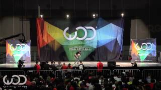 Megan Batoon | World of Dance LA 2014 #WODLA