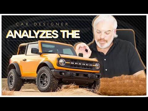 Frank Stephenson Analyzes The New Ford Bronco!