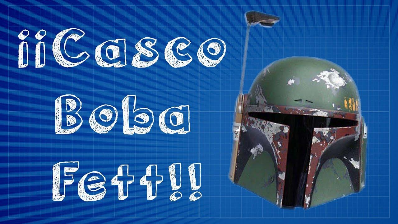 Cómo hacer el casco de Bobba Fett - Pepakura Designer [ 1 / 7 ...