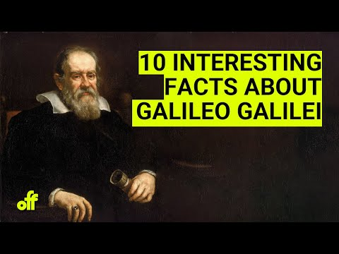 10 Interesting Facts About Galileo Galilei Youtube
