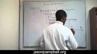 8.  Section 1.2: Semiotics, Semiology, Sign and Saussure Lecture