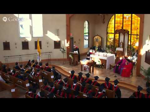 Holy Apostles Commencement 2014