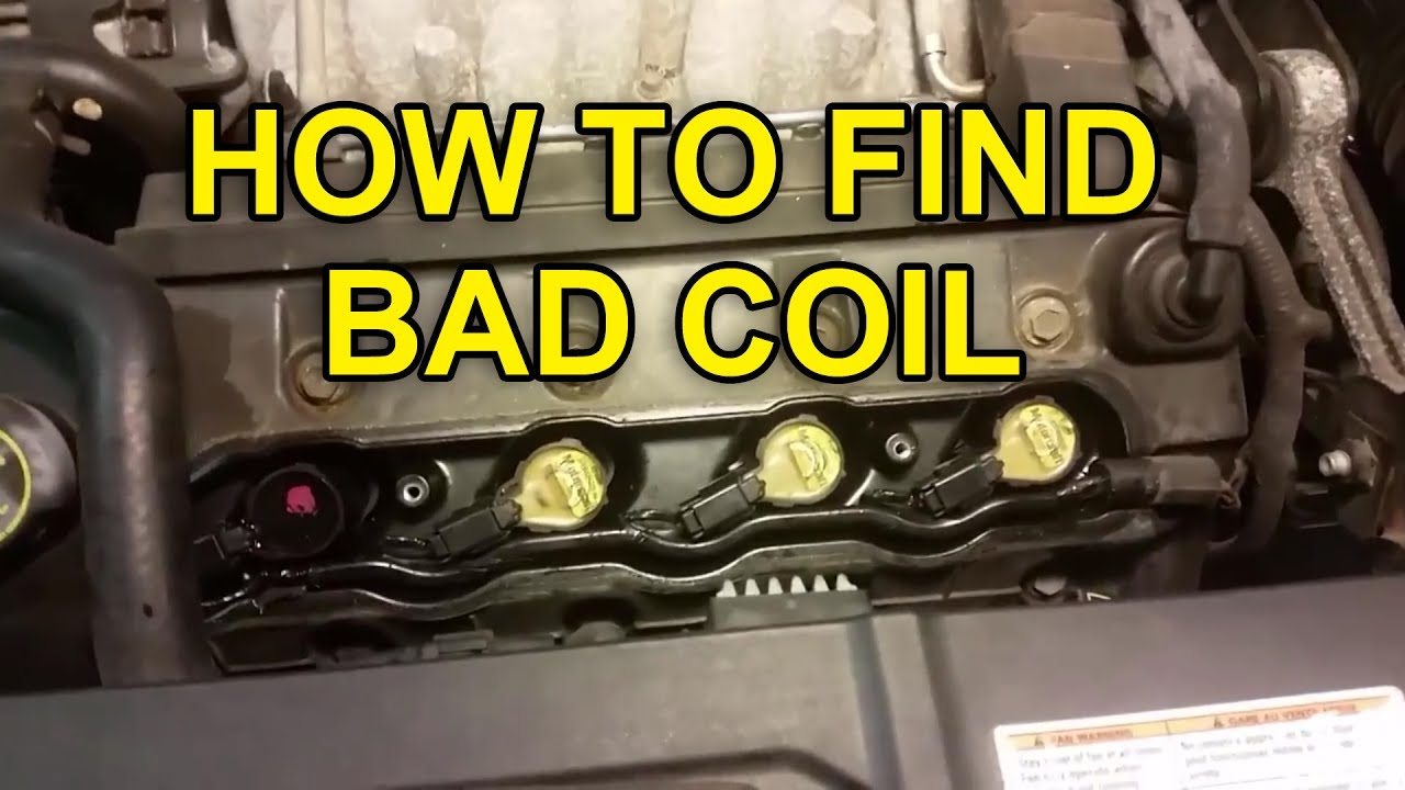 How To Diagnose And Replace Bad Coil Lincoln Ford 46l Youtube Ls1 Connector Wiring Diagram
