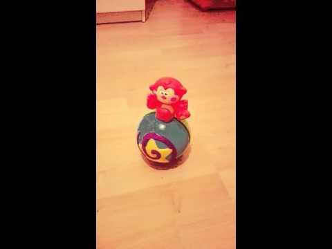 Fisher Price Hudobna gula/opicka/ Musical Ball