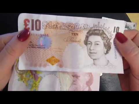 BRITISH POUND EXPLAINED ENGLISH England MONEY Geld Penny Grand Akubra Brompton Girl