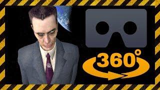 [360 VR] Песня G-man-a Half-Life [КОТ ОБЗОР]