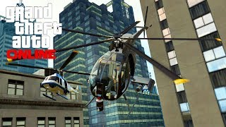 GTA 5 Secrets - Buzzard Attack Chopper Secret Lock On Trick! (GTA 5 Gameplay)