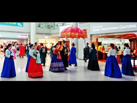 Incheon Airport Korean traditional cultural experience center