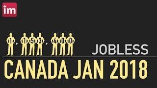 La economia en Canada cayo en el mes de enero del 2018