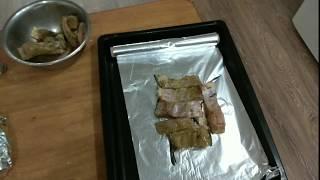 Как приготовить рыбу в фольге на углях Простой рецепт но очень вкусный