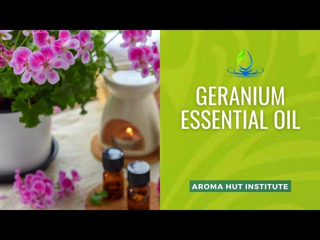 Geranium Essential Oil - How To Use