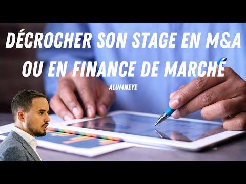 AlumnEye: Décrocher son stage en M&A et son Stage en Finance de Marché