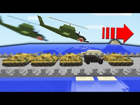 Enemies Made Huge Bridge For An Attack?!  | Minecraft WAR #45