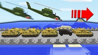 Enemies Made Huge Bridge For An Attack?!    Minecraft WAR #45