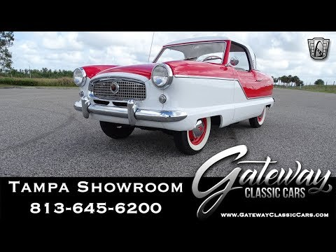 1957 Nash Metropolitan - Gateway Classic Cars of Tampa Stock #1492