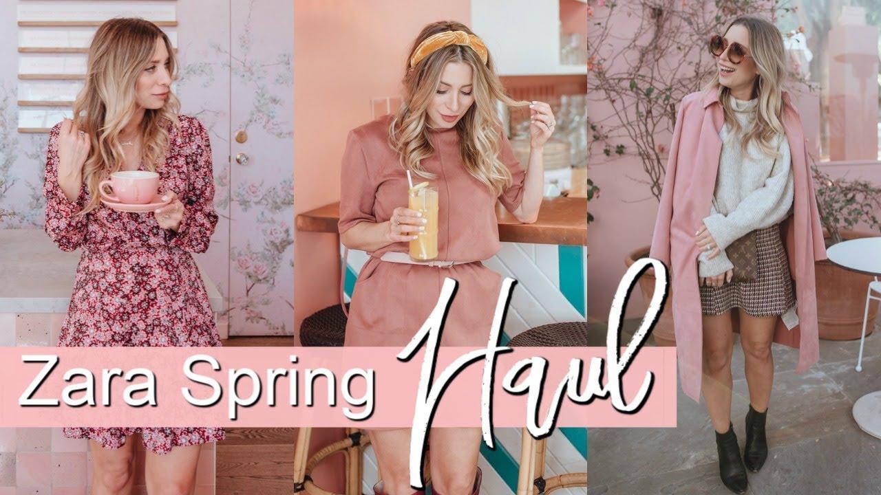 ZARA Spring 2019 HAUL + TRY ON 8