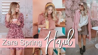 ZARA Spring 2019 HAUL + TRY ON