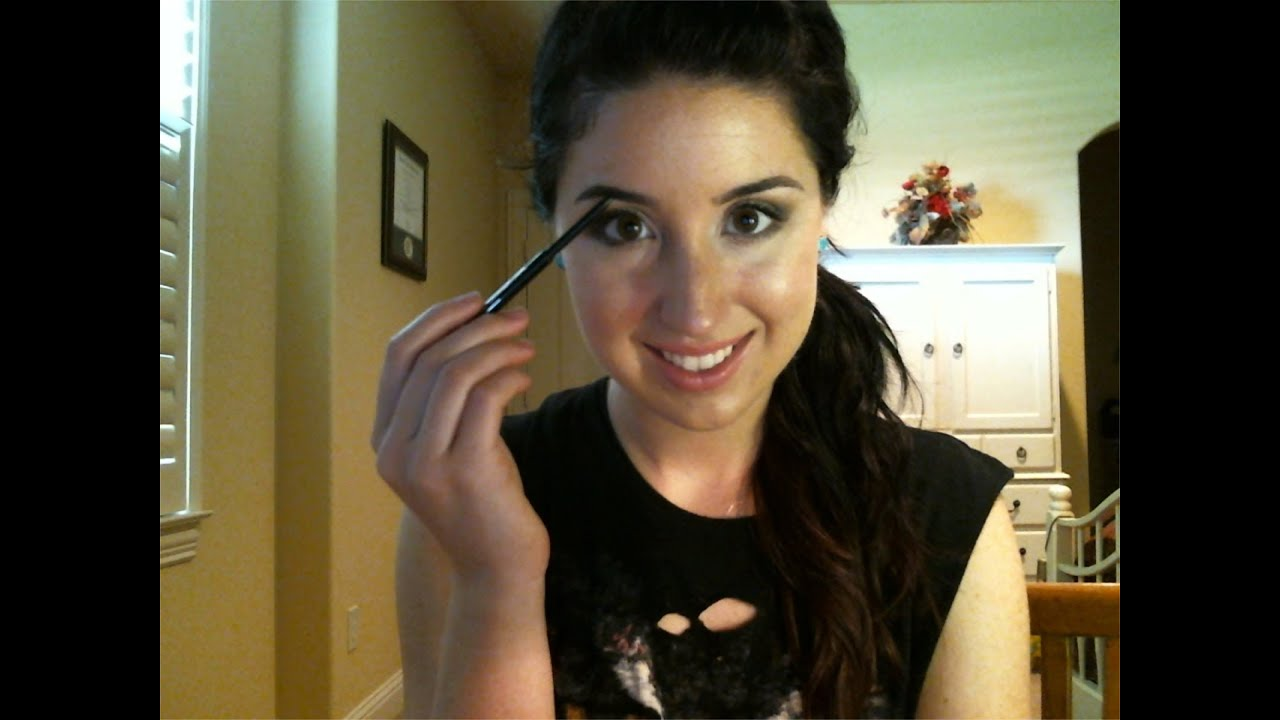 Best brow pencil ever and demo anastasia brow wiz youtube baditri Images