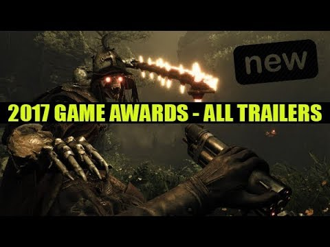 ALL TRAILERS from the 2017 Game Award Show