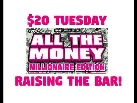 $20 Tuesday - All The Money - PA Lottery - Scratcher