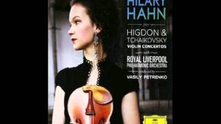 Violin Concerto In D Major Op. 35 -- Allegro Moderato Part One - Hilary Hahn