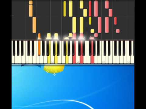 Bangles   Manic Monday [Piano tutorial by Synthesia]