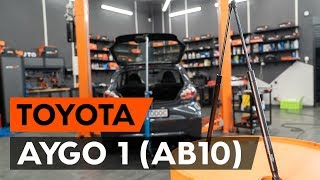 Replacing Poly v-belt on TOYOTA AYGO: workshop manual