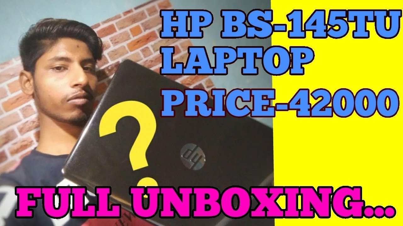 HP Laptop BS-145TU UNBOXING