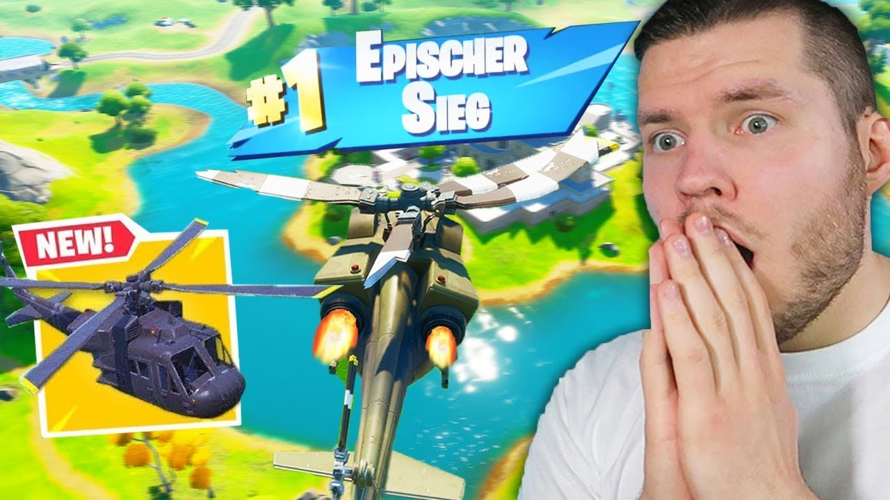 der *NEUE* HELICOPTER in Fortnite.. NEUE UPDATE!