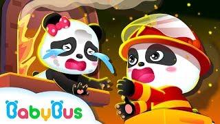 Los Bomberos Pandas Recopilación de Canciones Infantiles Oficios y Profesiones BabyBus Español