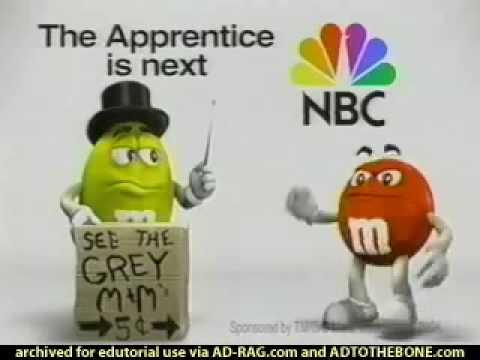 M&M's - NBC - The Apprentice 2004, USA