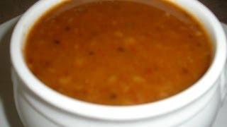 Sweet Sauce for Rice Stick Noodles (Noum Machupp Somlar Kmere)