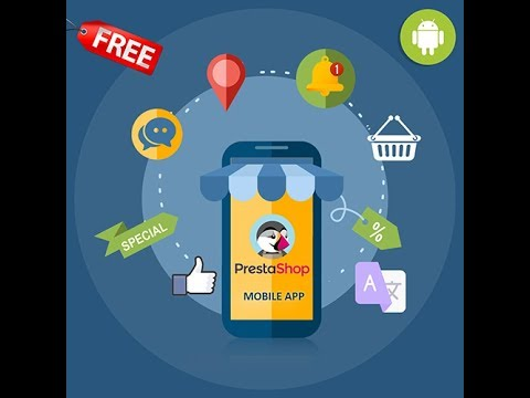 Prestashop Mobile App Builder for Android and iOS
