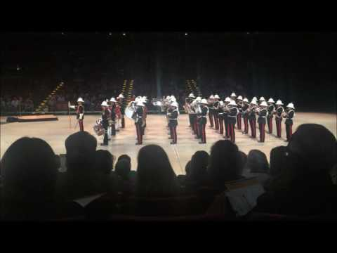Band of HM Royal Marines, Scotland and Scots Guards Pipes & Drums, Austin Texas Feb 9, 2016Concert