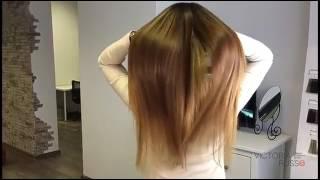Окрашивание и наращивание волос Спб